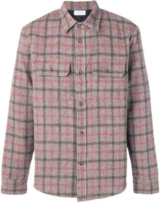 John Elliott padded checked overshirt