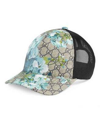 Gucci GG Blooms Baseball Hat $320 thestylecure.com