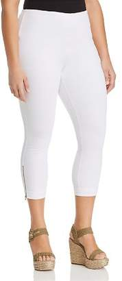 Lysse Plus Cropped & Cuffed Denim Leggings