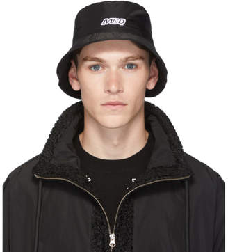 McQ Black Bucket Hat