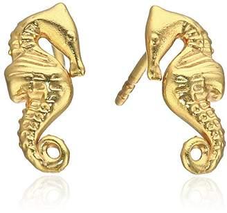 Alex and Ani Post Earrings Seahorse Stud Earrings