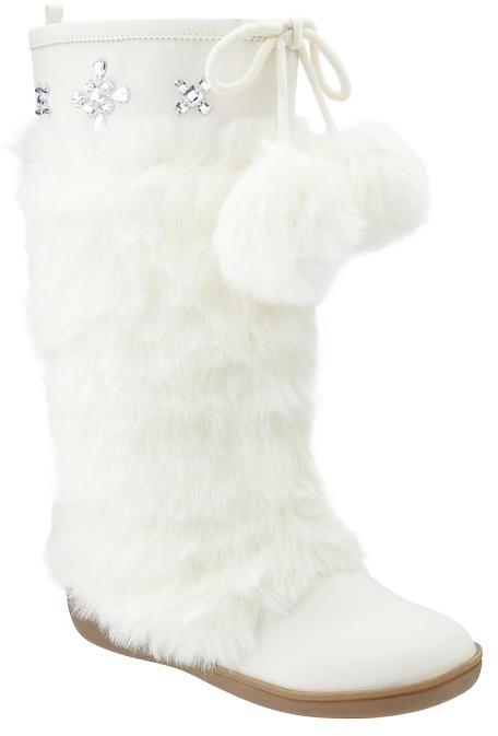Gap Tall faux-fur boots