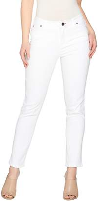 Peace Love World Peached Sateen 5-Pocket Slim Leg Jeans