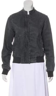 MM6 MAISON MARGIELA Mandarin-Collar Bomber Jacket