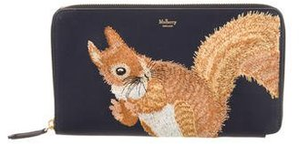 Mulberry 2017 Squirrel Travel Wallet $425 thestylecure.com