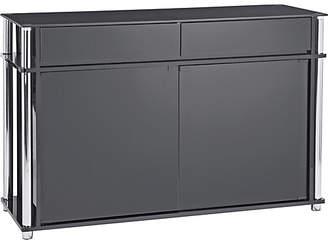 Argos Home Matrix 2 Door 2 Drawer Glass Sideboard - Black