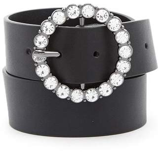 Forever 21 O-Ring Faux Leather Belt