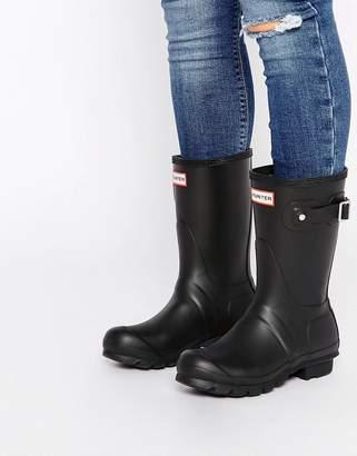 Hunter Short Black Boots