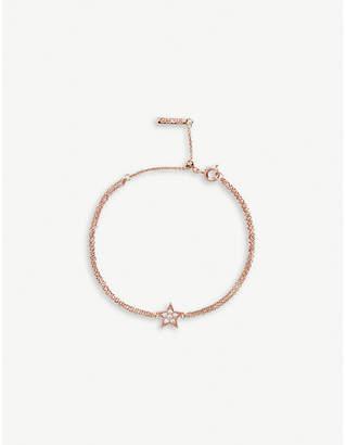 Olivia Burton Celestial rose gold-plated and crystal-embellished star bracelet