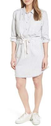 Caslon Drawstring Waist Shirtdress