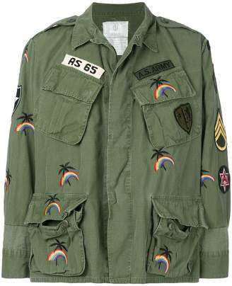 As65 cargo army jacket
