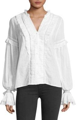 Paige Alonza Ruffled Blouse