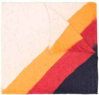 Etro stripe detail scarf