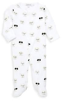 Baby Noomie Baby's Bulldog-Print Pima Cotton Footie