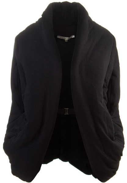 HACHE - Padded wool gilet