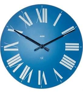 Alessi Firenze Wall Clock Blue