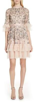 Needle & Thread Dusk Floral A-Line Dress