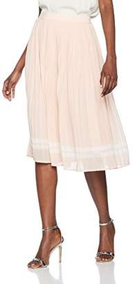 Only Women's Onllea Midi Pleated WVN Skirt