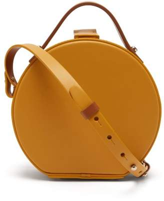 Nico Giani - Tunilla Mini Leather Bi Colour Circle Bag - Womens - Yellow Multi