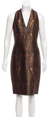 Akris Sleeveless Jacquard Dress w/ Tags