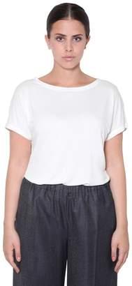 Marina Rinaldi Short Sleeve Viscose Top