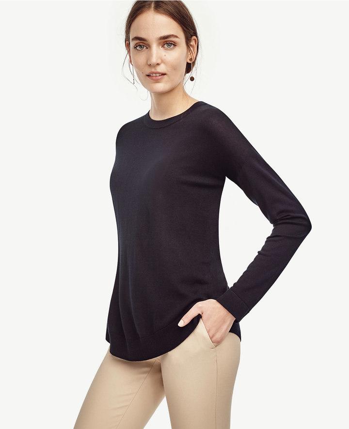 Ann TaylorPetite Shirttail Tunic