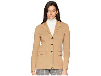 Lauren Ralph Lauren Cotton Blazer Women's Jacket