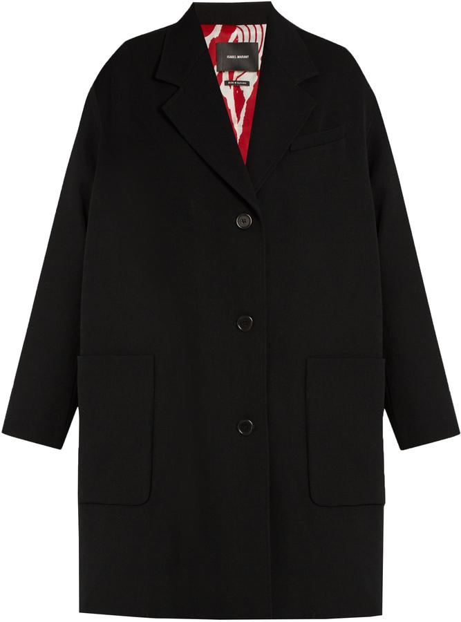 Isabel MarantISABEL MARANT Jagger oversized wool duster coat