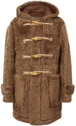 Burberry Shearling Duffle Coat