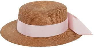 Federica Moretti Small Brim Boater Hat