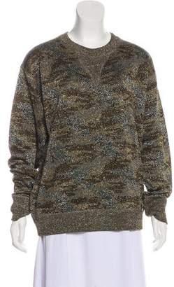 Isabel Marant Metallic Knit Sweater