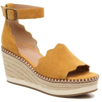 Crown Vintage Daffodil Espadrille Wedge Sandal