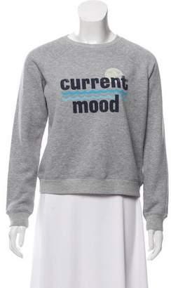 Rebecca Minkoff Phrase Accented Crew-Neck Sweatshirt