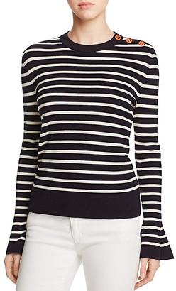 Tory Burch Kimberly Merino Wool Sweater $250 thestylecure.com