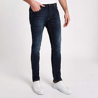 River Island Lee blue slim fit tapered Luke jeans