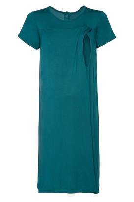 Happy Mama. Womens Labor Delivery Hospital Gown Breastfeeding Maternity. 434p (, US 4/6, S)