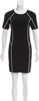 A.L.C. Short Sleeve Knit Mini Dress
