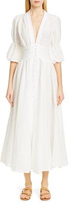 Cult Gaia Willow Eyelet Maxi Dress