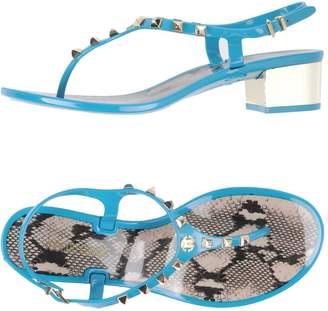 Roberto Cavalli Toe strap sandals