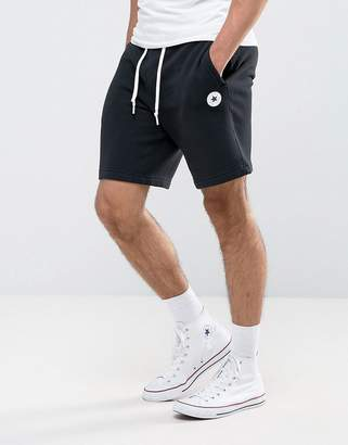 Converse Chuck Patch Shorts In Black 10004633-A04