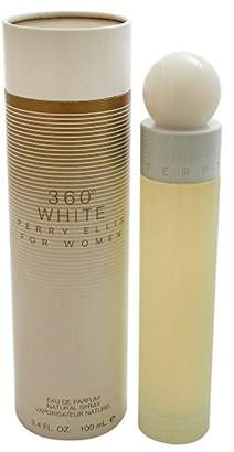 Perry Ellis 360 White By For Women. Eau De Parfum Spray 3.4 Ounces