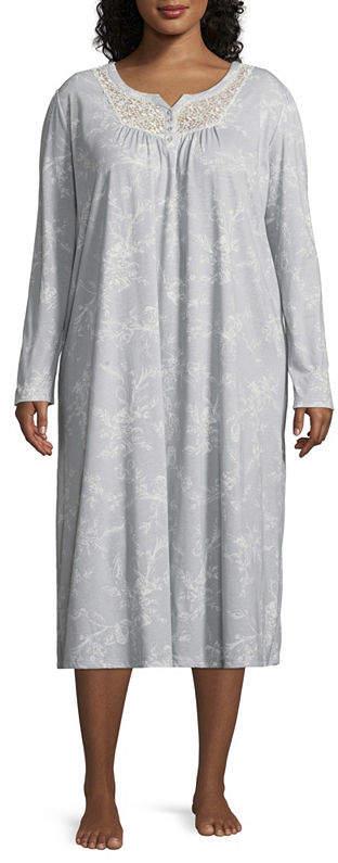 Adonna Jersey Round Neck Nightgown