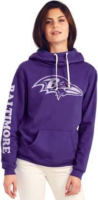 Junk Food Clothing Baltimore Ravens Cowl Neck Womens Hoodie