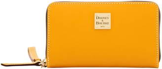Dooney & Bourke Beacon Zip Around Phone Wristlet