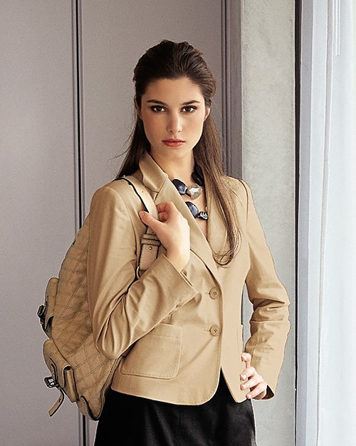 Our Exclusive Stretch Cotton Jacket