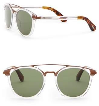 Toms Harlan 51mm Browbar Sunglasses