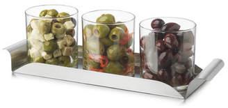 Libbey Modern 4 Piece Bar Condiment Set