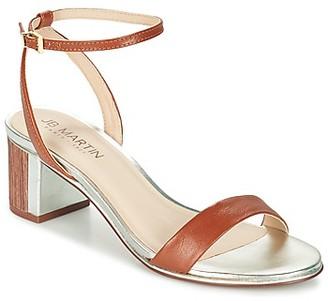 JB Martin VALORI women's Sandals in Brown