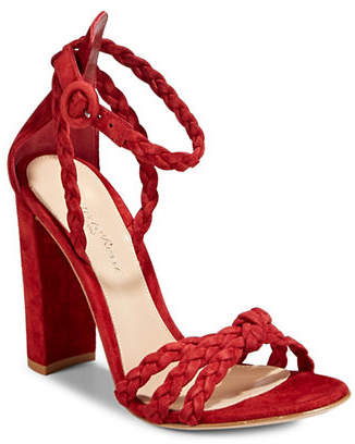 Gianvito Rossi Braided Dress Heeled Sandals