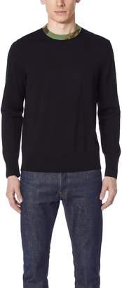 Rag & Bone Camo Crew Neck Sweater